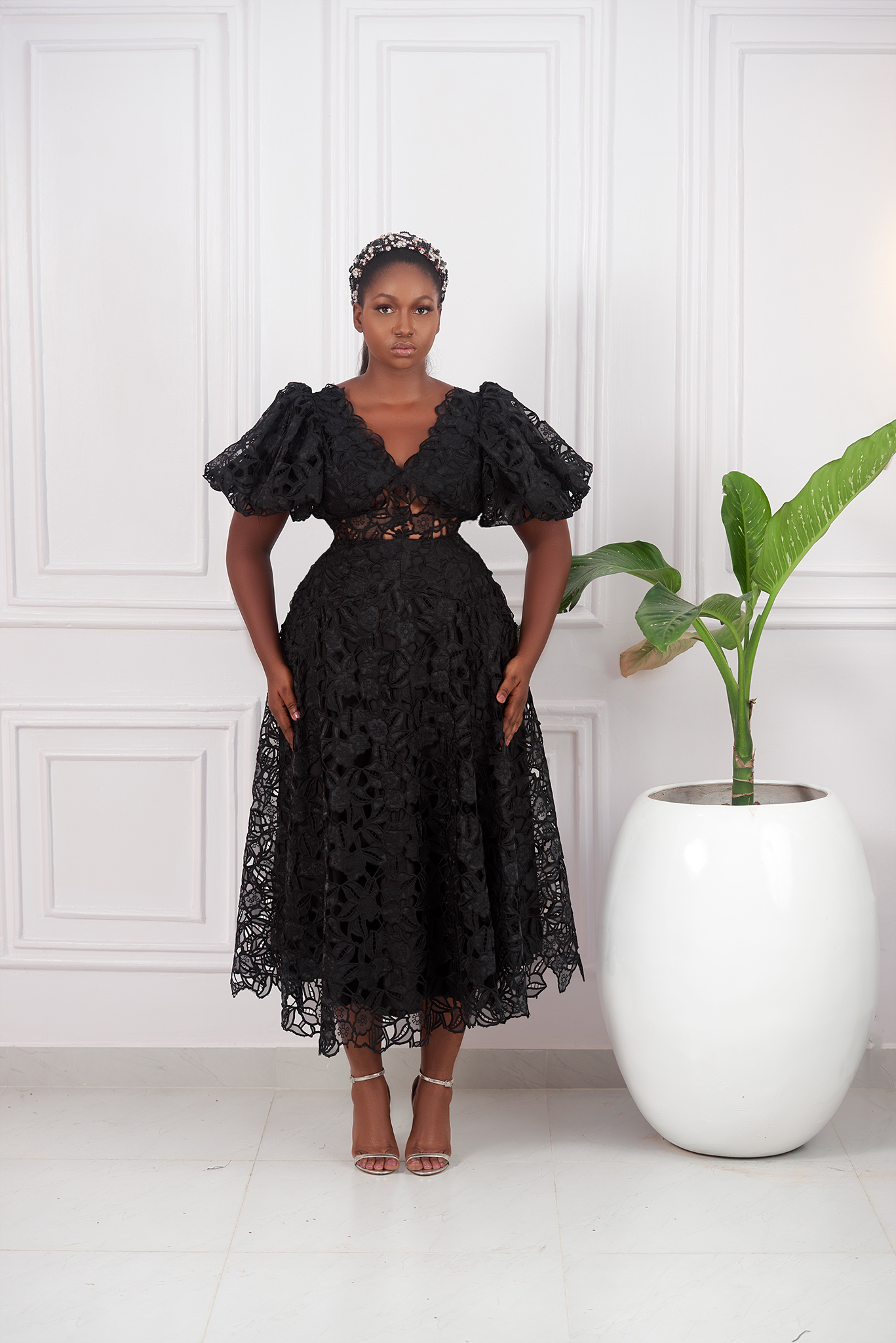 The 'Ire' Lace Dress